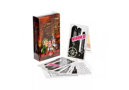 """Набор игр 2 в 1 карточная """"Мафия"""" 17 карт + классическая колода карт (36 шт.) 7093 1"""