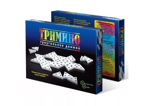 """Игра """"Тримино"""" (треугольное домино) 7059 1"""