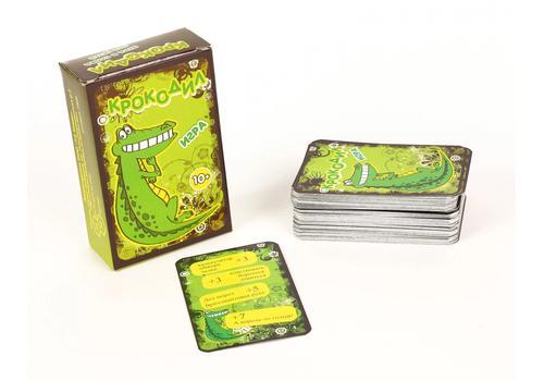 """Игра карточная """"Крокодил"""" 100 карт, для взрослых 7801 1"""