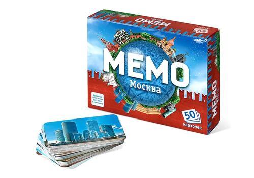 "Мемо ""Москва"" (50 карточек) 7205 1"