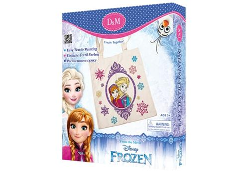 """Набор для росписи сумки """"Принцессы"""" Холодное сердце 65112 1"""