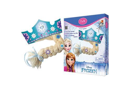 """Набор для создания короны из фетра """"Принцесса Эльза"""" Холодное сердце 63835 1"""