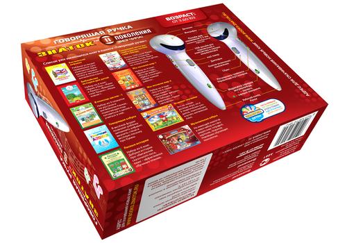 Электронная ручка Знаток 4gb (нового поколения) с зарядным ус-вом и USB 2