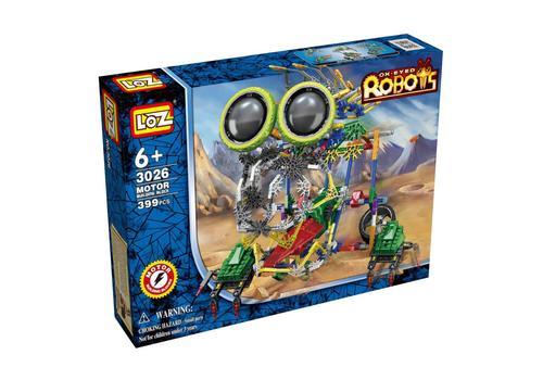 Электромеханический конструктор IROBOT. Серия: Роботы. МегаЛап 3026 1