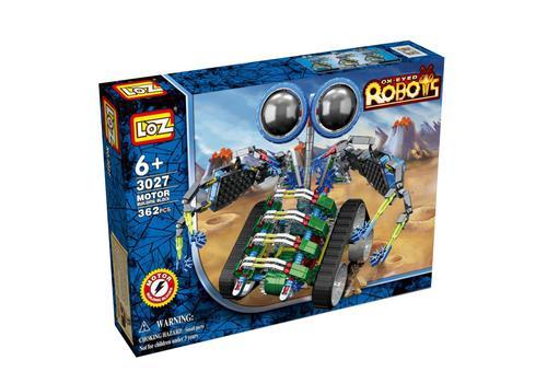 Электромеханический конструктор IROBOT. Серия: Роботы. МотоЛокатор 3027 1