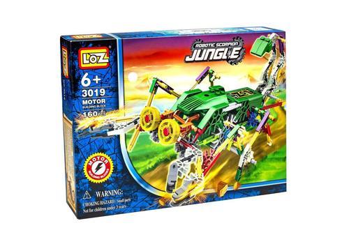 Электромеханический конструктор IROBOT. Серия: Джунгли. Скорпионозавр 3019 1