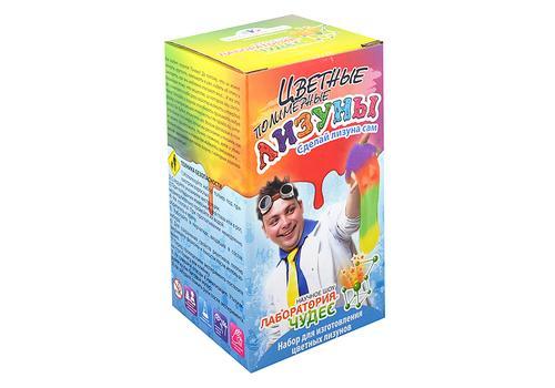 """Юный химик 819 """"Цветные полимерные лизуны"""" 1"""