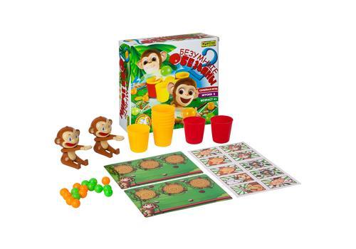 """Настольная семейная игра Ф86180 """"2 безумные обезьяны"""" 2"""