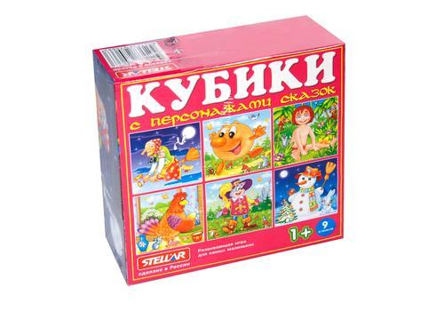 Кубики в картинках 27 (персонажи сказок) 0827 1