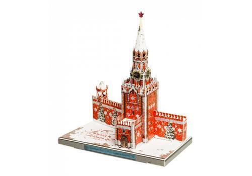 УмБум487-2 Спасская Башня Московского Кремля. Новогодняя 1
