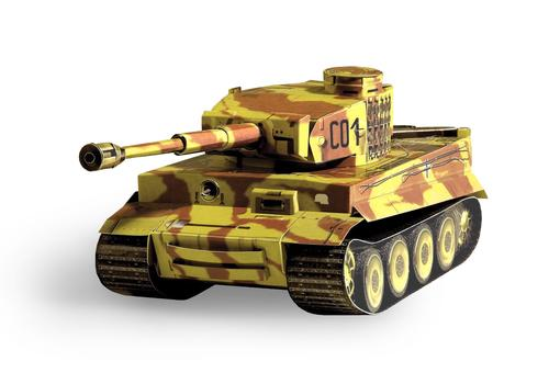 "УмБум198-01 Танк ""Tiger"" 1"