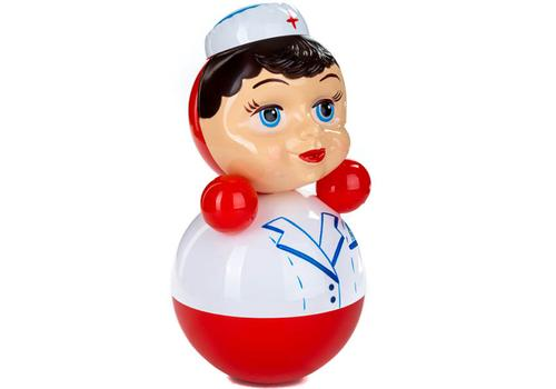 Неваляшка 6С-0018 Медсестра 22,5 см 1