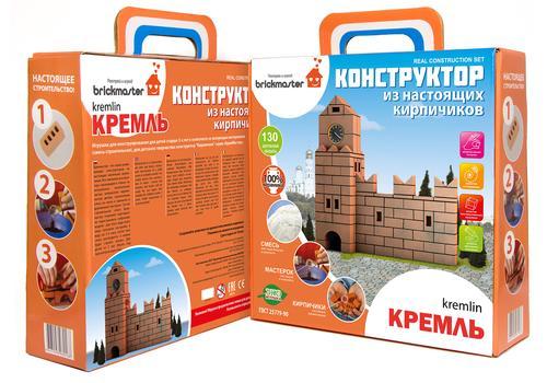 """Конструктор-кирпичики 208 """"Кремль"""" 1"""
