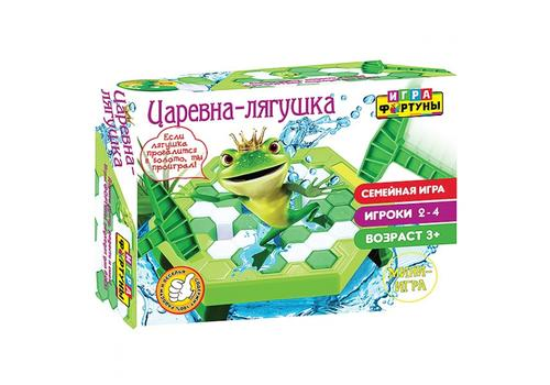 """Настольная семейная игра Ф93554 """"Царевна-лягушка"""" мини-игра 1"""