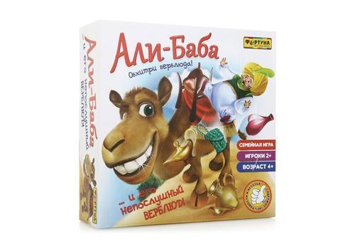 """Настольная семейная игра Ф51233 """"Али-Баба и непослушный верблюд"""" 1"""
