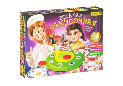 """Настольная семейная игра Ф79325 """"Веселая закусочная"""" 1"""