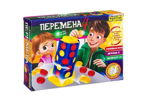 """Настольная семейная игра Ф86619 """"Перемена 4"""" 1"""