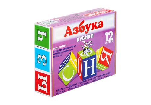 "Кубики ""Азбука"" 704 1"