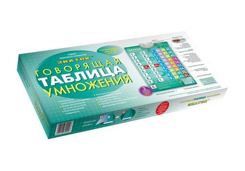 "Электронный плакат ""Таблица умножения"" 1"