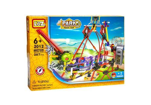 Электромеханический конструктор LOZ PARK. Серия: Парк развлечений. Качели 2012 1