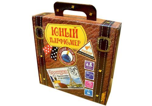 """Юный парфюмер в чемоданчике 714 """"Путешествие по ароматам """"Франция"""" 1"""