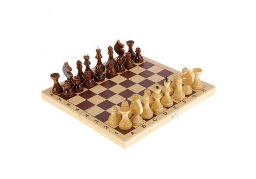 Шахматы лакированные с доской С-1/Р-1/ШК-5 1