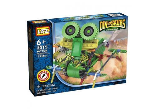Электромеханический конструктор IROBOT. Серия: Динозавры. Велоцараптор 3015 1