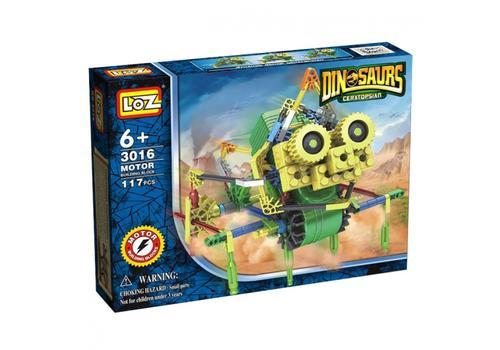 Электромеханический конструктор IROBOT. Серия: Динозавры. Насекавр 3016 1