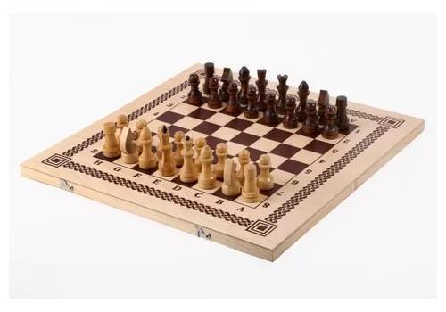 Шахматы, шашки,нарды 3 в 1 С-11/ШК-1 1
