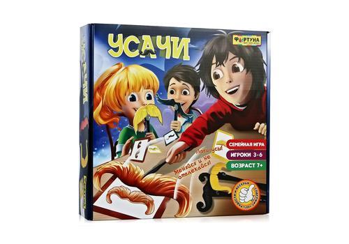 """Настольная семейная игра Ф77076 """"Усачи"""" 1"""