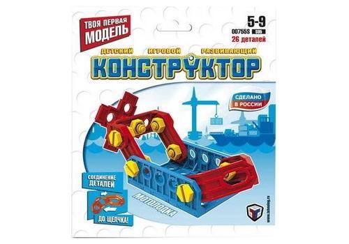 """Конструктор собирайка """"Мотолодка"""" 00755 1"""