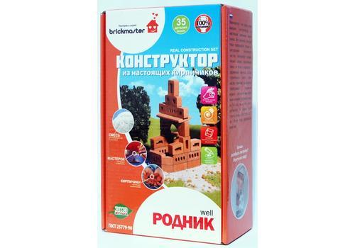"Конструктор-кирпичики 603/6401 ""Родник"" 1"