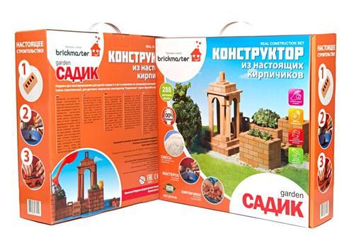 "Конструктор-кирпичики 102 ""Садик"" 1"