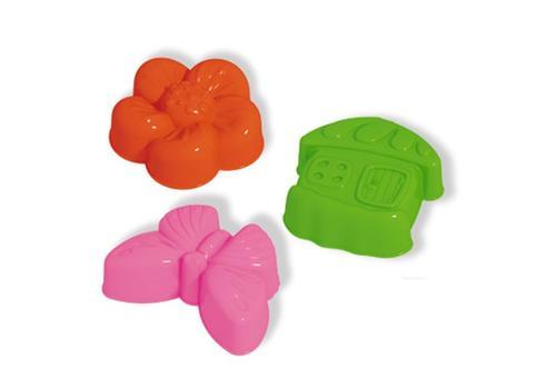 """Формочки для песка 01850 """"Цветок,бабочка,домик"""" 1"""