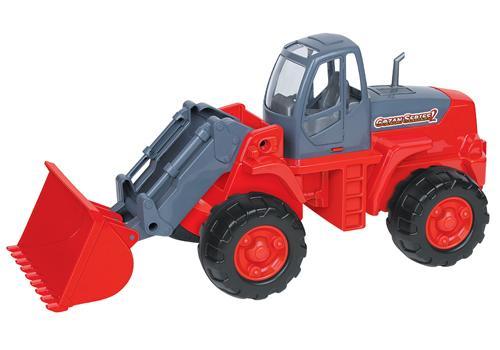 Трактор-погрузчик в сетке 8886 1