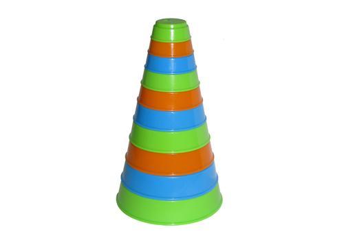 Занимательная пирамидка (10 элем.) 35042 1