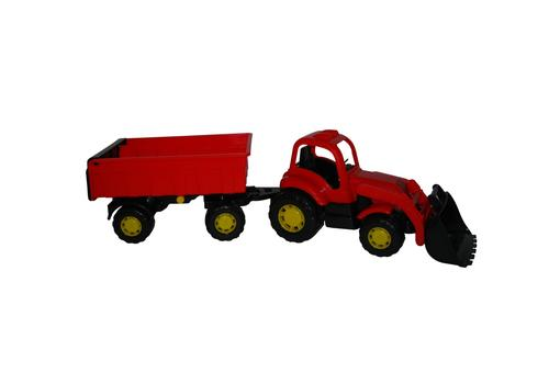 """Трактор """"Крепыш"""" с прицепом и ковшом №1 44556 1"""