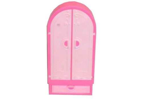 """Мебель """"Шкаф"""" розовый С-1429 1"""