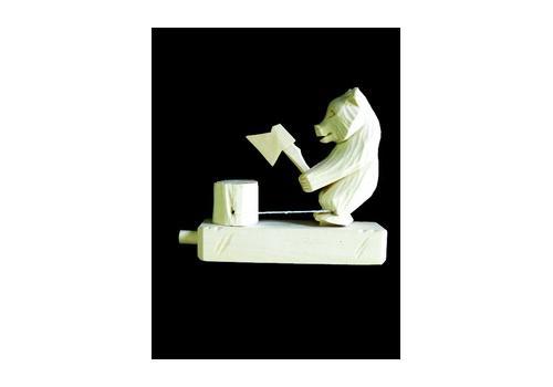 """Богородская игрушка """"Медведь дровосек с топором"""" 8023 Объемные 1"""