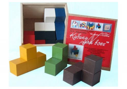 """Игра """"Кубики для всех"""" Н-001/СВ01003 1"""