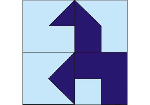 Прозрачный квадрат (без книжки) ПРО-002 1