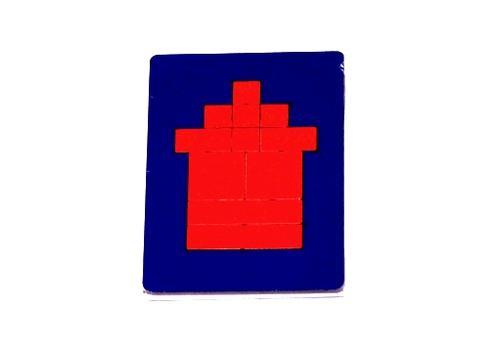 Головоломка Прямоугольники 20595 (Оксва) 1