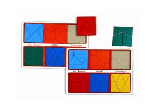 Сложи квадрат 3 эконом (Оксва) 1