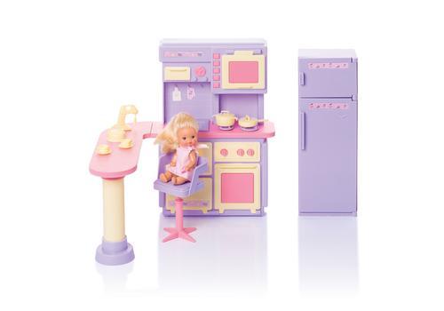 """Кухня """"Маленькая принцесса"""" сиреневая (коробка) С-1438 1"""