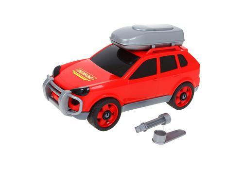 Авто легковой (с багажником на крыше) 53671 в сеточке 1
