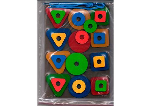 Набор геометрических фигур (игры на мат. планшете) (Оксва) 1