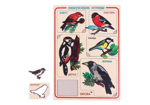 Рамка-вкладыш Зимующие птицы (Оксва) 1
