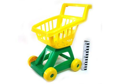 Тележка для супермаркета (4 колеса) У497 1