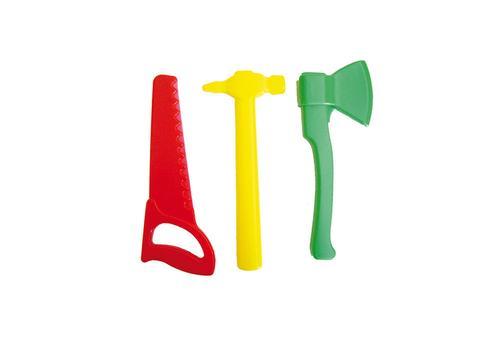 Столярный набор (ножовка, топор, молоток) У613 1