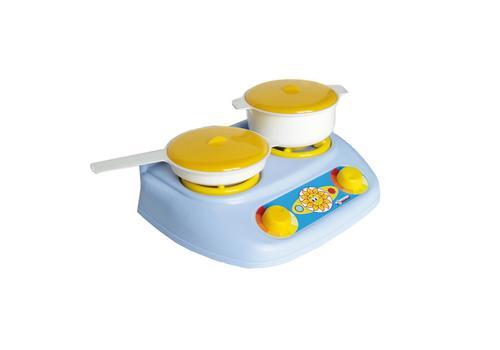 """Кухонный набор """"Плита газовая, кастрюля, сковорода"""" У528 1"""
